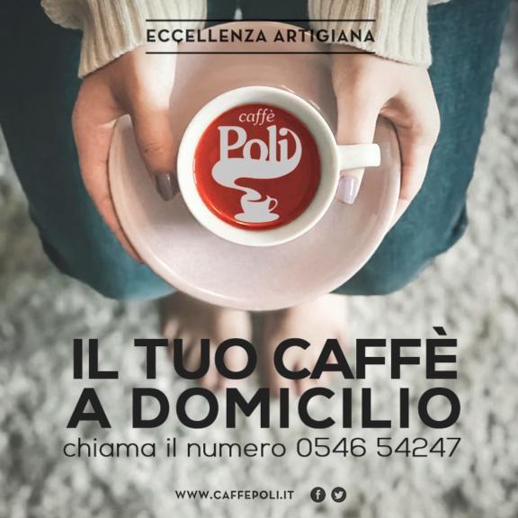 Caffè Poli non si ferma richiedi il tuo caffè a domicilio